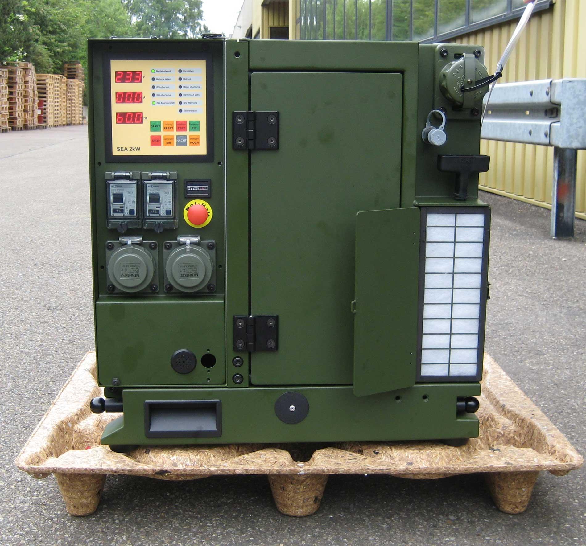 IRON DOME IDF - גנרטור בשרות כיפת ברזל